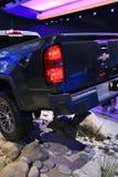 Chevy Colorado 2018 novo na exposição na feira automóvel internacional norte-americana Fotografia de Stock Royalty Free