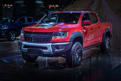 Chevy Colorado ZR2 bison 2019 arkivfoton