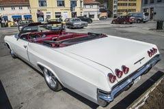 chevy convertibel de impalass van 1965 Royalty-vrije Stock Foto