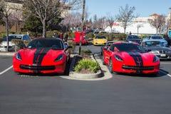 2015 Chevy Corvette Royalty-vrije Stock Foto's
