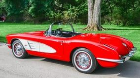 1959 Chevy Corvette Royalty-vrije Stock Afbeelding