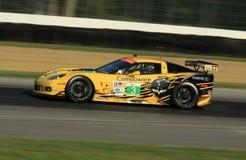Chevy Corvette C6 ZR1 race car Royalty Free Stock Photo