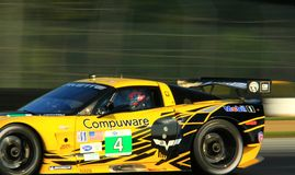 Chevy Corvette C6 ZR1 race car royalty free stock photos