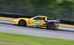 Chevy Corvette race car Royalty Free Stock Images