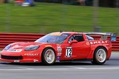 Chevy Corvette-Rennwagen Lizenzfreie Stockfotografie