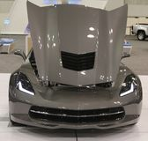 2015 Chevy Corvette with space gray paint Royalty Free Stock Image