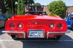 Chevy Corvette Sports Car 1972 stockfotos