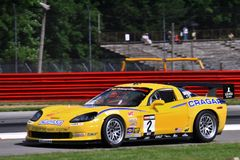 Chevy Corvette Z51 race car Stock Image