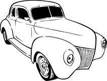 1939 Chevy Coupe Illustration royalty-vrije illustratie