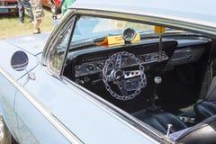 1962 Chevy 2 de Binnenlandse Mening van de Deurimpala Stock Afbeelding
