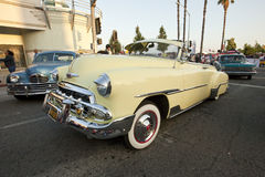 Chevy Deluxe Convertible Royalty Free Stock Images