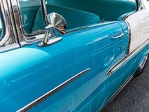 Chevy detaljer 1955 Royaltyfria Foton