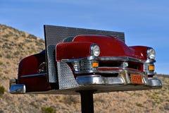 1954 Chevy, een oriëntatiepunt van Jerome, Arizona Stock Foto's