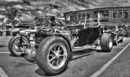 Chevy för klassisk amerikan varm stång arkivbilder