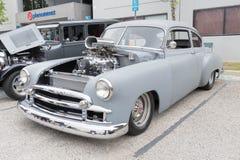 Chevy Fleetline 1950 på skärm Royaltyfri Fotografi
