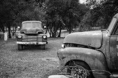 chevy gammal lastbil Arkivbilder