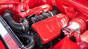 Free Chevy Hotrod Engine Royalty Free Stock Image - 57660816