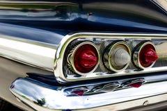 1961 Chevy Impala. 1961 blue Chevrolet Impala taillights Royalty Free Stock Photos