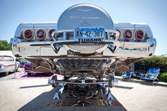 1965 Chevy Impala Chrome Undercarriage Royalty-vrije Stock Afbeelding