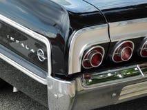 Chevy Impala Rear Fender classico fotografie stock libere da diritti