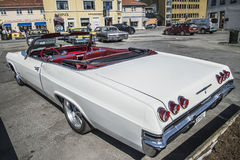 1965 chevy impala ss convertible Royalty Free Stock Photo