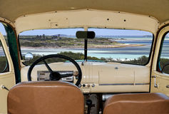 Chevy-Innenraum 1947 Lizenzfreie Stockfotos