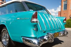 1955 Chevy Nomad Station Wagon stock foto