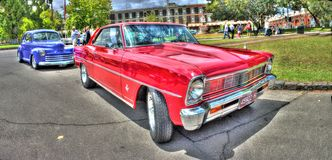 Chevy Nova 1966 solides solubles Images stock