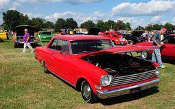 Chevy Nova Super Sport Antique Automobile 1964 royaltyfria bilder