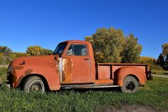 Chevy pickup from the late 40`s Royalty Free Stock Photo