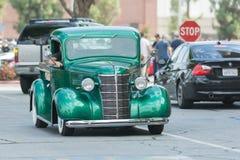 Chevy Pickup Truck su esposizione fotografia stock