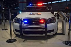 Chevy Police model 2010 Royalty Free Stock Image