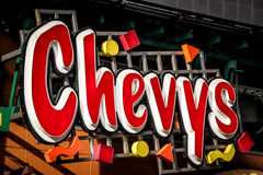 Chevy's Fresh Mex at Times Square, New York Royalty Free Stock Image