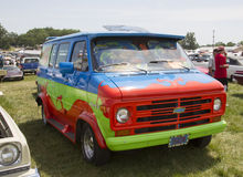 1974 Chevy Scooby Doo Mystery Machine Van Stock Images