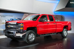 Chevy Silverado at the Chicago Auto Show Stock Photo