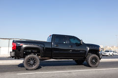 Chevy Silverado Pickup truck Stock Image