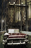 Chevy sous la pluie Photographie stock libre de droits