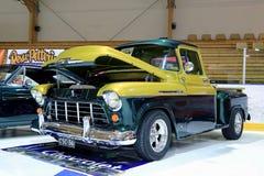 Chevy Stepside 3100 показанное в выставке Стоковая Фотография RF
