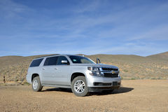 2015 Chevy Suburban - off-road Stock Images