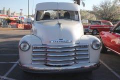 Chevy uppsamling för bilshow Royaltyfri Foto
