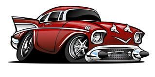57 Chevy wektoru ilustracja Zdjęcia Royalty Free