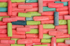 Chew candy Stock Photography