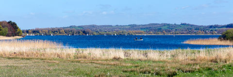 Chew Valley Lake and reservoir Somerset England panorama Stock Photos