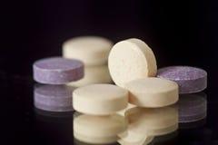 Chewable пилюльки витамина, минерала, дополнения или медицины Стоковые Изображения RF