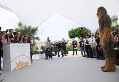 Chewbacca attends the photocall Stock Photos