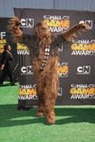 Chewbacca. At Cartoon Network's first ever Hall Of Game Awards, Barker Hanger, Santa Monica, CA. 02-21-11 Stock Photography