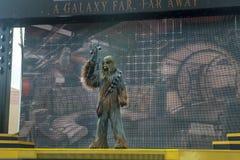 Chewbacca, Star Wars, Disney World, viaje foto de archivo