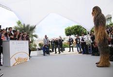 Chewbacca uczęszcza photocall Zdjęcia Stock