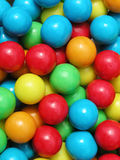 Chewing gum 1. Vivid colored chewing gum bubbles stock photos