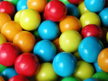 Chewing gum 2. Vivid colored chewing gum bubbles stock photography